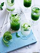 Cucumber and Basil Gimlet