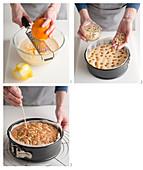 Einen Pinienkern-Zitrus-Kuchen mit Rosmarin backen