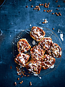 Swedish pecan and cinnamon buns