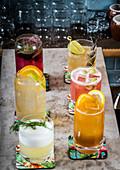 Skandinavisch angehauchte Cocktails