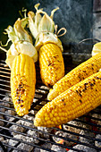 Corn Cobs on BBQ