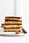 Paleo Snickers bars