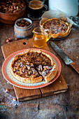 Honey nut pie
