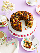 Festive Fruit and Nut Cake