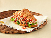 Croissant with Lobster Salad