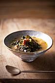 Seetang-Suppe (Korea)