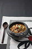 Doenjang-jjigae (soup fermented soy bean paste, Korea)