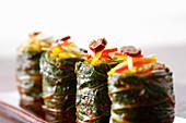 Kimchi rolls (Korea)