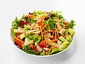 Gemischter Salat mit Geflügel