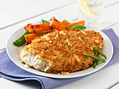 Tortilla crusted pollock