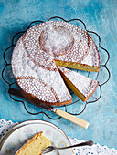 Majorcan orange and almond cake