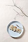 Grilled Jerusalem artichoke (Korea)