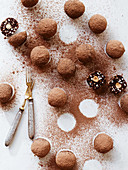 Protein balls with hazelnuts (vegan)