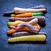 Root vegetables (carrots and parsley root)
