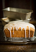 Pound Cake, Rührkuchen mit Zuckerguss