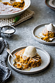Pumpkin Pudding Chomeur (Canada)