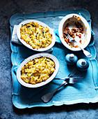 Shepherds Pie mit Lammhackfleisch, Möhren und Kartoffelpüree