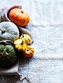 Various pumpkins