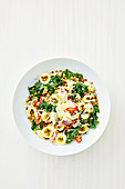 Orecchiette with lentils and chilli