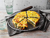 Spinach quiche (low carb)