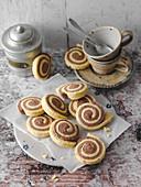 Schokoschnecken-Kekse (Low Carb)