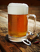 Ein Krug Helles Bier