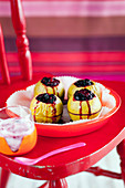 Baked Apples with Berries for Kids
