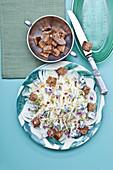 Stir-fry Savoy Cabbage