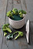 Anleitung für Gesteck aus Brokkoli