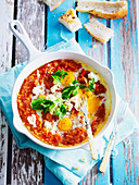 Shakshuka with Turkish Bread