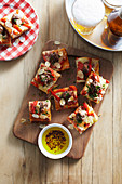 Meatball Party Pizzas