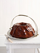Boiled Raisin Chocolate Cake
