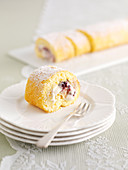 Berry Cream Roulade