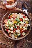 Quinoa and Fresh Mozzarella Salad