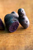 'Vitelotte' (potato variety)