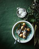Broccoli Gnudi with Nduja and sage (Italy)