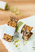 Muesli bars to take away