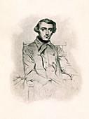 Alexis de Tocqueville, French historian and statesman