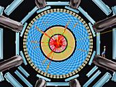 Micro black hole event in CERN's ATLAS detector