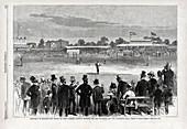 Baseball match at Lords, 1874