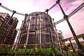 Gas Holders converted into flats King's Cross, London