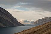 Fjord at Bloomster-bugten, Greenland