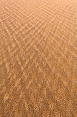 Abstract patterns in sand