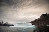 Iceberg in fjord, Greenland