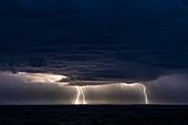 Kalahari lightning storm