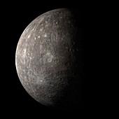 Mercury, illustration