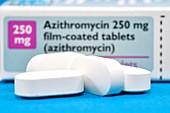 Azithromycin antibiotic drug