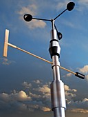 Anemometer, illustration