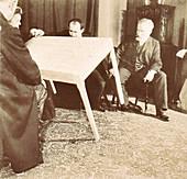 Palladino levitating table, 1907-8