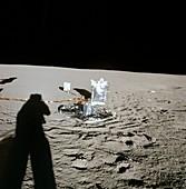 Apollo 12 lunar experiments, 1969
